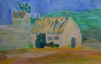 Les paysages vus par nos élèves de 6ème-43