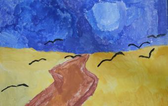 Les paysages vus par nos élèves de 6ème-8