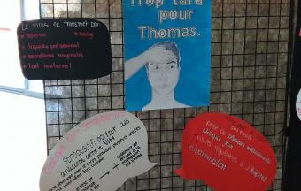 Une journée Action sida organisée par 3 élèves au LFHED -4