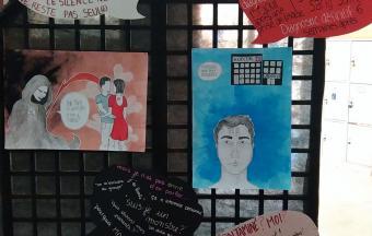 Une journée Action sida organisée par 3 élèves au LFHED -5