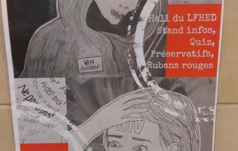 Une journée Action sida organisée par 3 élèves au LFHED -7