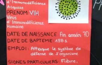 Une journée Action sida organisée par 3 élèves au LFHED -8