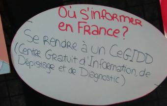 Une journée Action sida organisée par 3 élèves au LFHED -13
