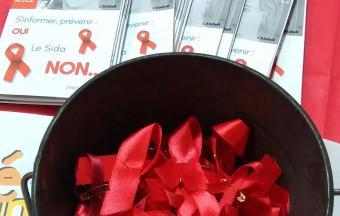 Une journée Action sida organisée par 3 élèves au LFHED -16