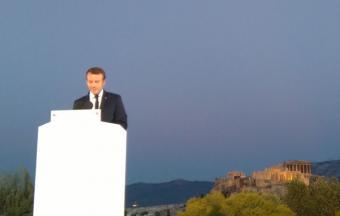 Invités sur la Pnyx par le Président de la République française et le 1er ministre grec, nos élèves de Terminale n'oublieront pas ce moment… -3