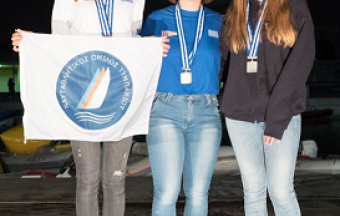 Catherine Drakopoulou, élève de 1ère, remporte la 2nde place à la course internationale de voile 'Athens International Sailing Week 2019'