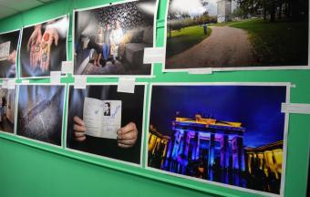 Expo « Les 30 ans de la Chute du Mur de Berlin » dans le CDI du LFHED-2
