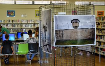 Expo « Les 30 ans de la Chute du Mur de Berlin » dans le CDI du LFHED-7