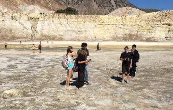 Voyage scientifique sur les îles de Tilos et Nisyros-0