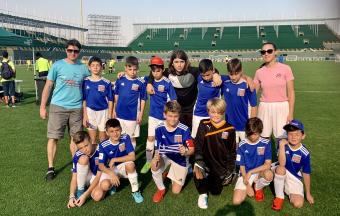 Nos élèves footballeurs se rendent à Dubaï pour la 1ère édition de la Coupe du Monde scolaire de Football AEFE-UNSS-11