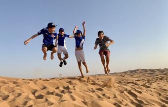 Nos élèves footballeurs se rendent à Dubaï pour la 1ère édition de la Coupe du Monde scolaire de Football AEFE-UNSS-13