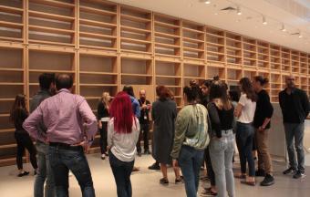 La classe Goncourt accueillie à la Bibliothèque Nationale de Grèce, au centre culturel Fondation Stavros Niarchos-20