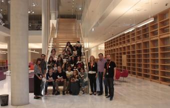 La classe Goncourt accueillie à la Bibliothèque Nationale de Grèce, au centre culturel Fondation Stavros Niarchos-21