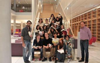 La classe Goncourt accueillie à la Bibliothèque Nationale de Grèce, au centre culturel Fondation Stavros Niarchos-22
