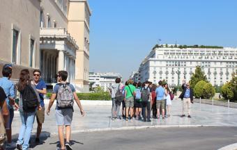 Les élèves de 2ndes au Parlement grec-4