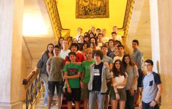 Les élèves de 2ndes au Parlement grec-0