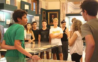 Les élèves de 2ndes au Parlement grec-1