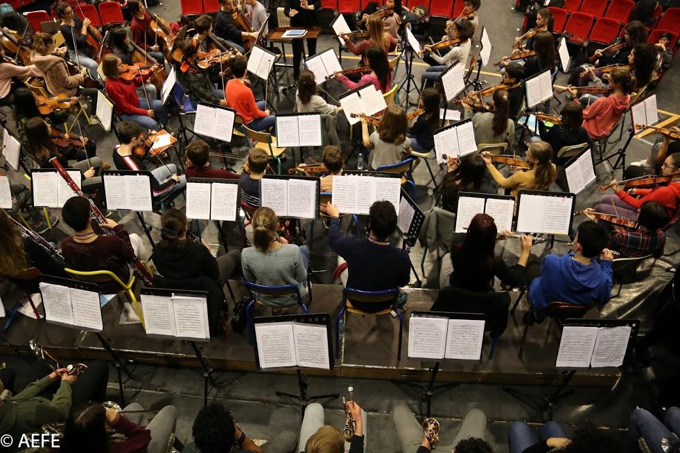 Dans les coulisses de l'Orchestre des lycées français du monde-16