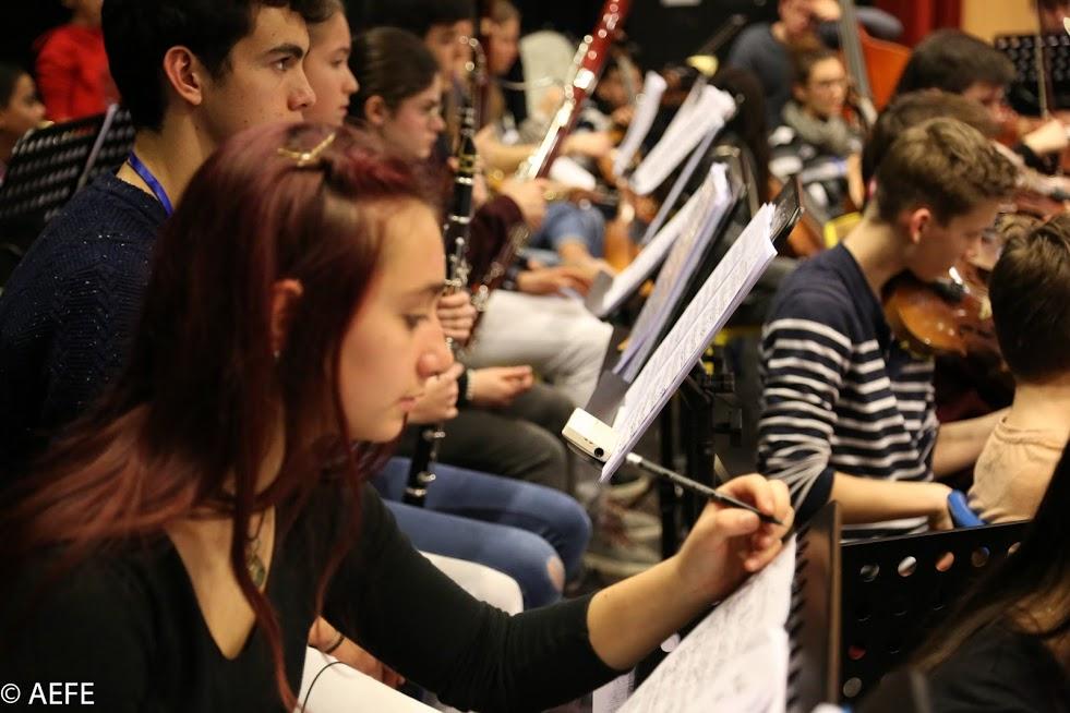 Dans les coulisses de l'Orchestre des lycées français du monde-2