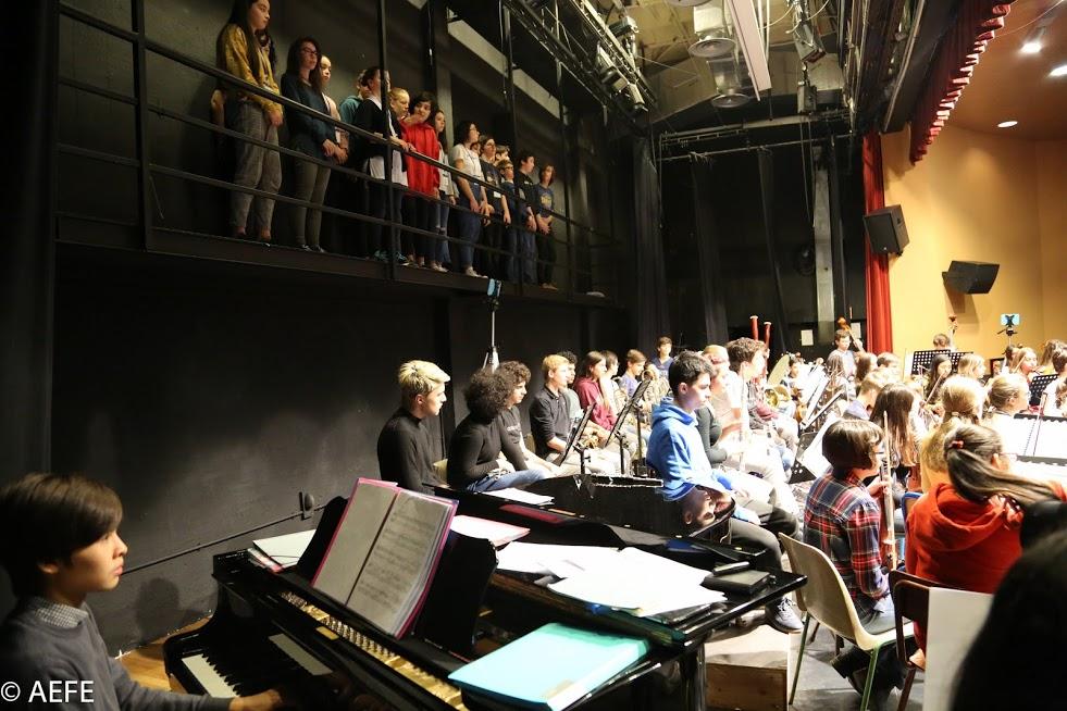 Dans les coulisses de l'Orchestre des lycées français du monde-13