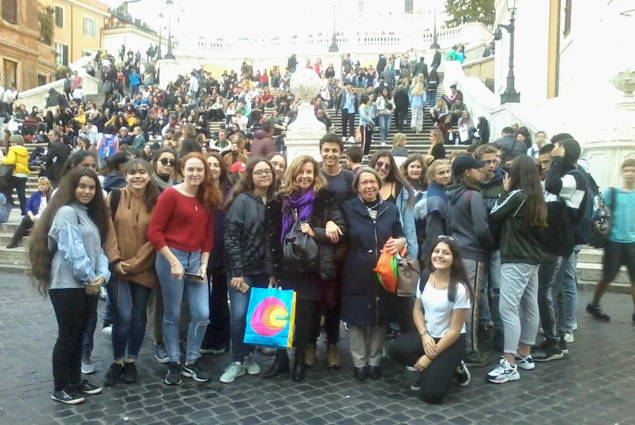 Un instantané de Rome pour nos élèves de 2nde et de 1ère-3