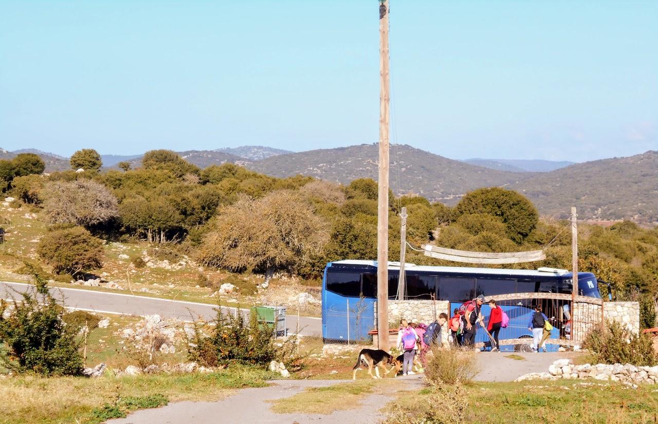 Camps d'automne 2018 : Découverte de la montagne et écotourisme à Karies Lakonias-8