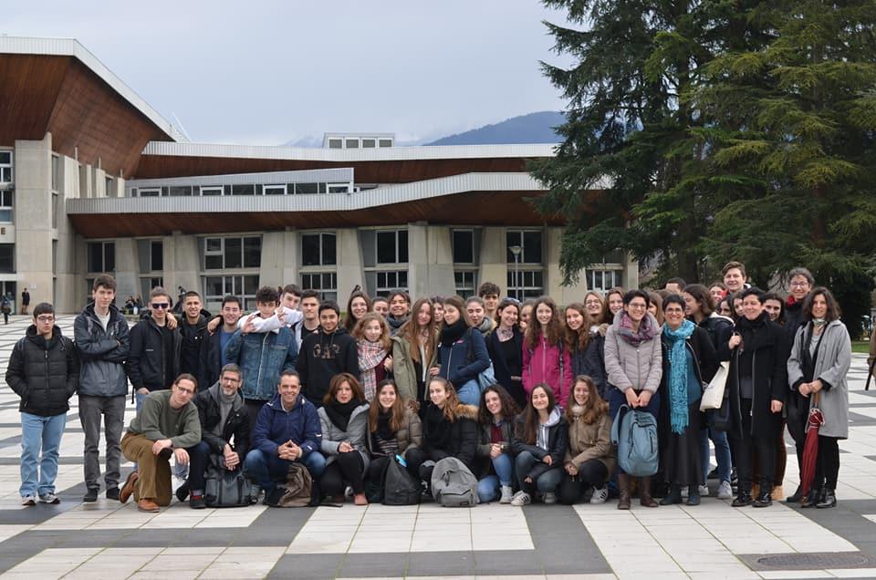 Voyage d'initiation universitaire des élèves de 1ère de la Section Hellénique à Lyon et Grenoble-0