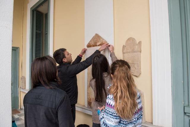 Les 5e latinistes et hellénistes découvrent les métiers de l'archéologie à l'EFA-3