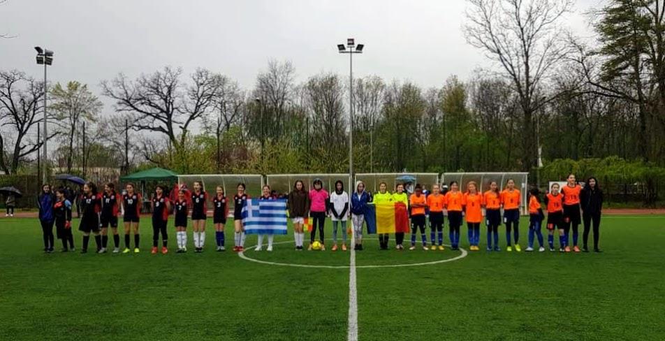12 footballeuses du LFHED participent au tournoi européen de football féminin de la ZESE-2