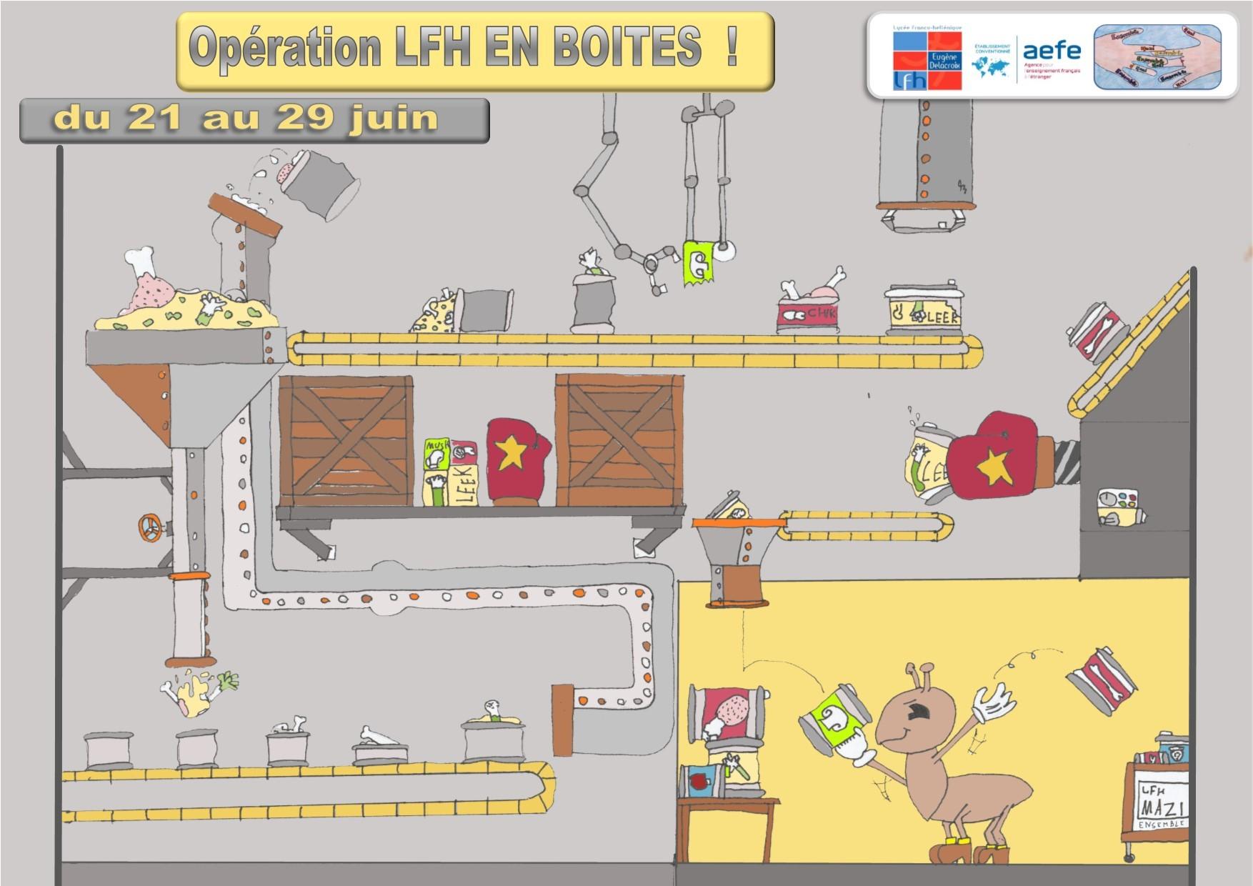 """Opération """"LFH en boîtes""""-0"""