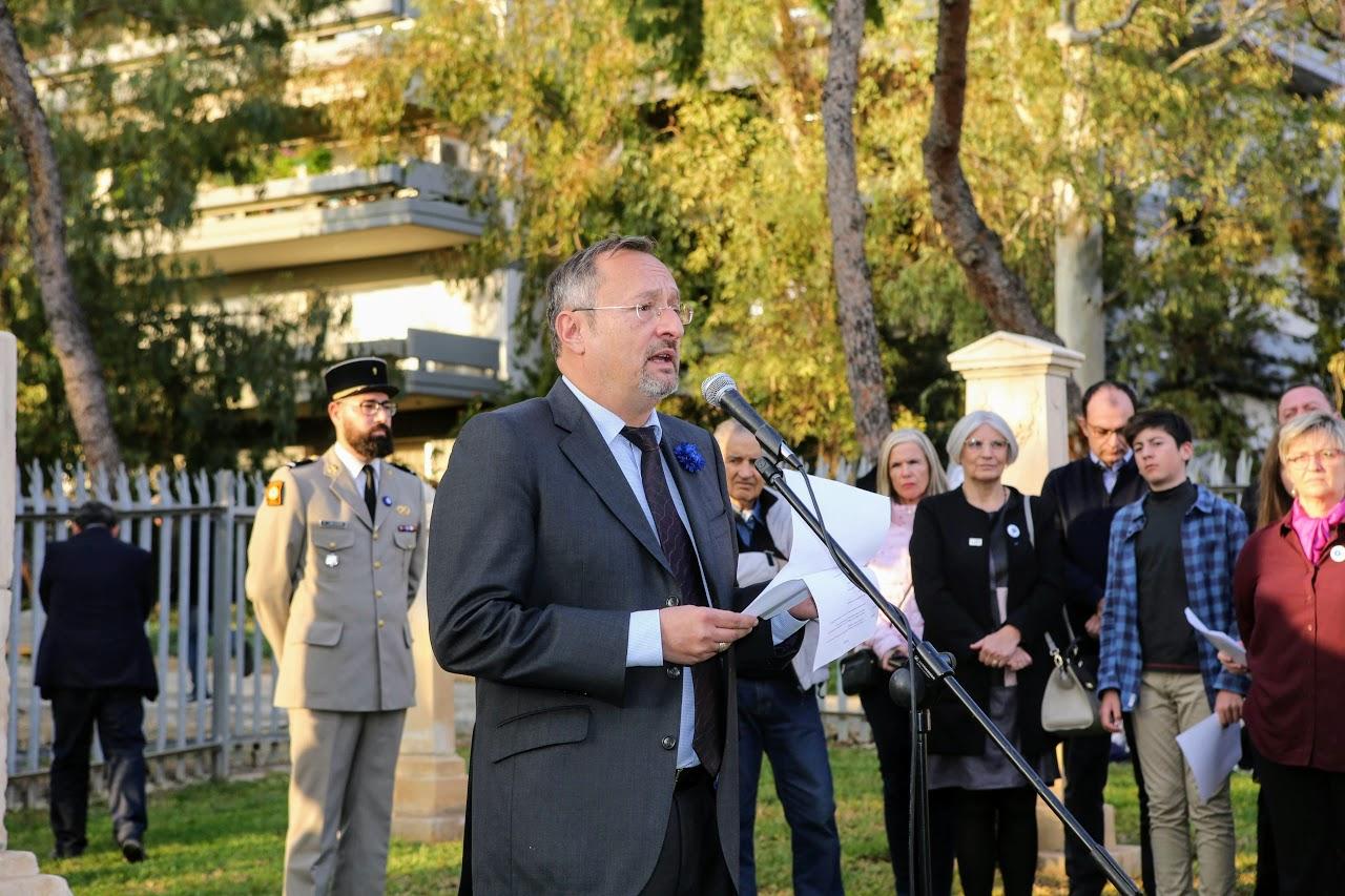 Un 11 novembre aux couleurs du centenaire de la fin de la Grande Guerre-1