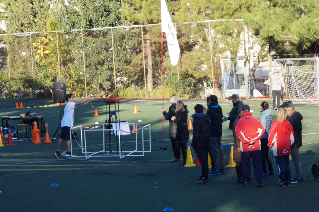 La 1ère session des Olympiades a réuni les élèves de 3ème et de Γ΄-1