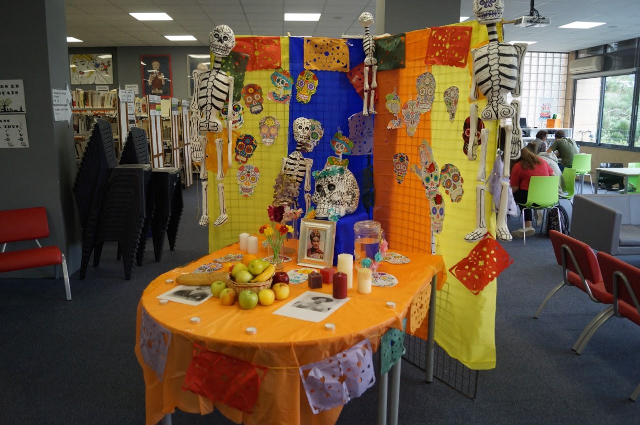 Les élèves de 4ème célèbrent le Jour des Morts à la mexicaine -1