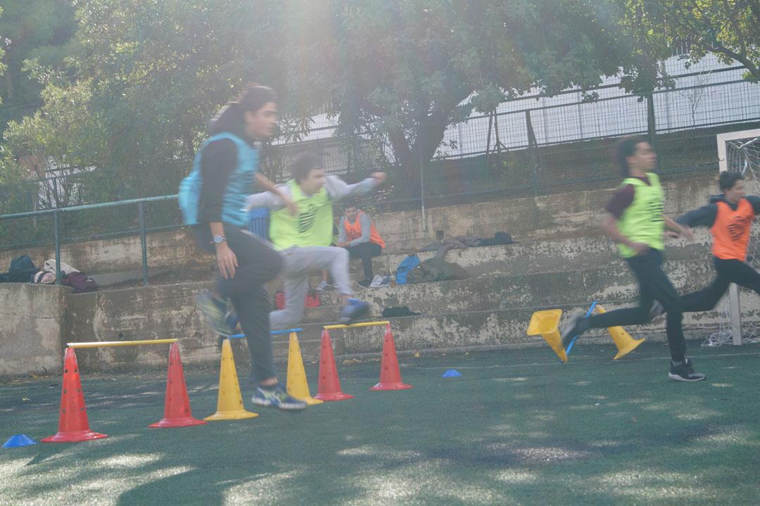 La 1ère session des Olympiades a réuni les élèves de 3ème et de Γ΄-9