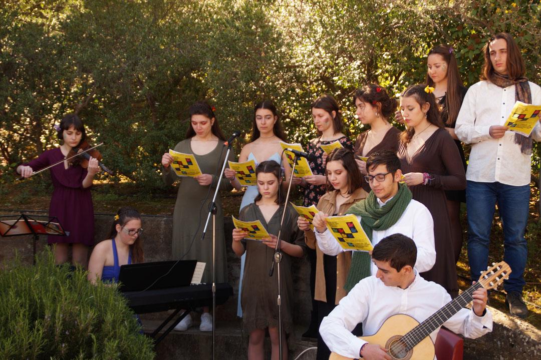 Les élèves littéraires de la Section Hellénique participent à une lecture participative des Métamorphoses d'Ovide  -4