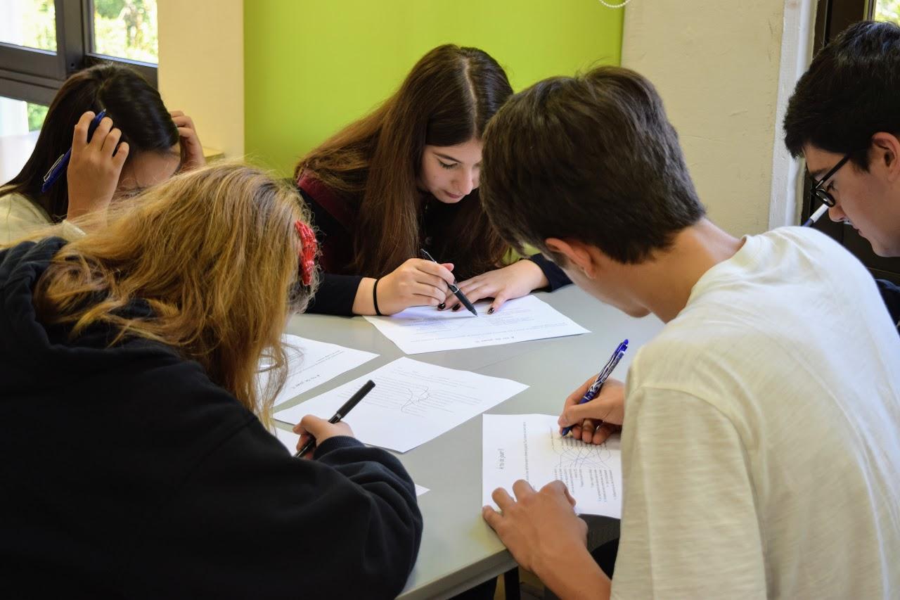 Nos élèves délégués du collège en formation à l'IFG-6