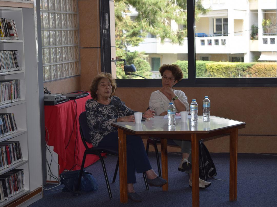 Promenade littéraire autour de l'oeuvre de l'écrivain Alki Zei et rencontre de nos élèves avec l'auteur-0