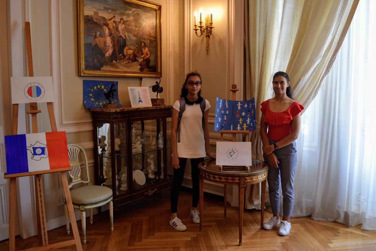 Concours de dessin pour la fête nationale du 14 juillet-6