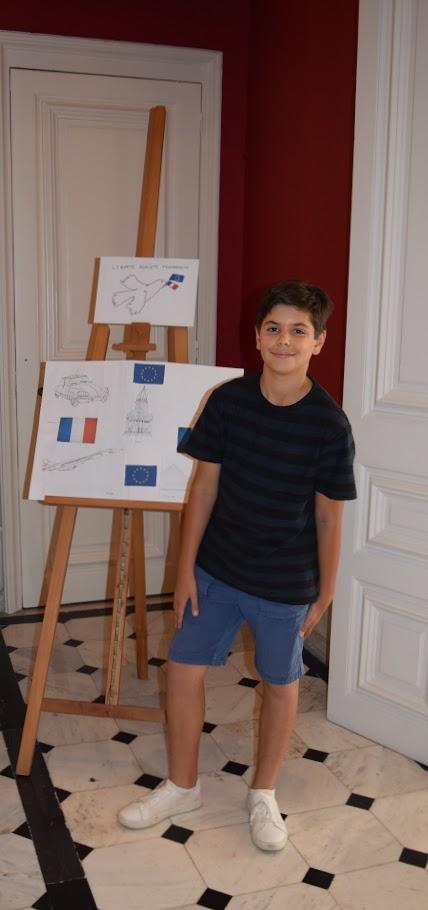 Concours de dessin pour la fête nationale du 14 juillet-14