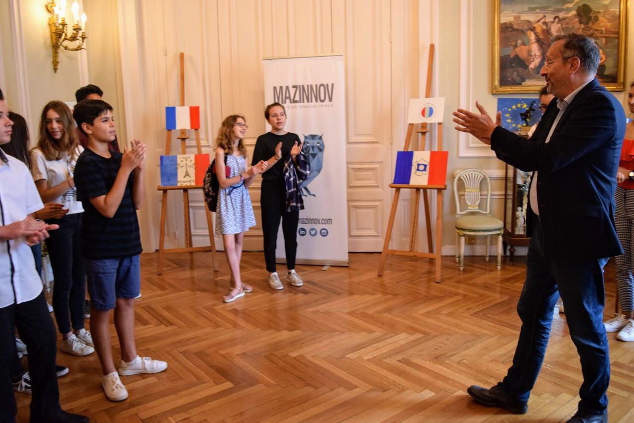 Concours de dessin pour la fête nationale du 14 juillet-26