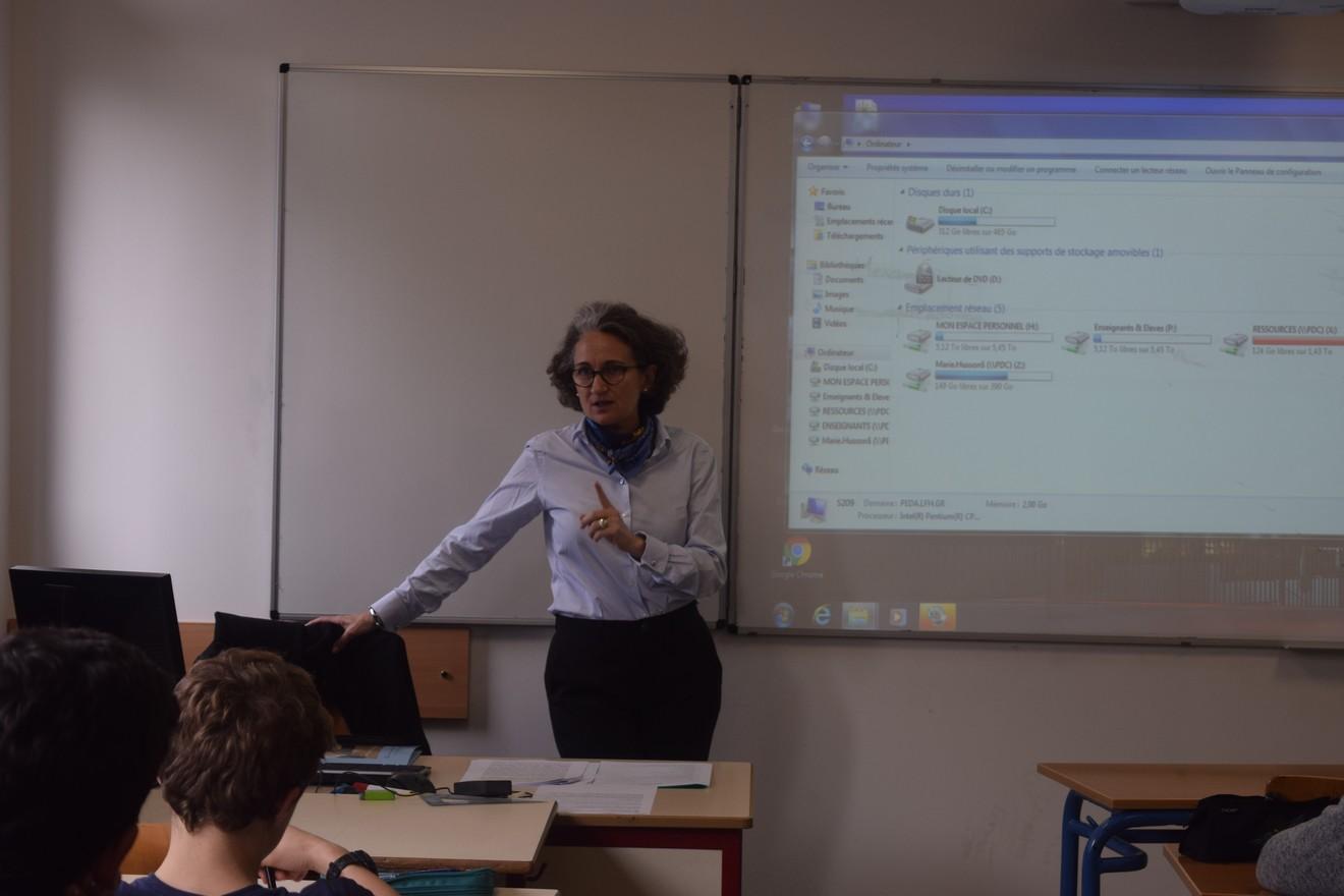 Forum des métiers au LFHED : la vidéo est en ligne !-52