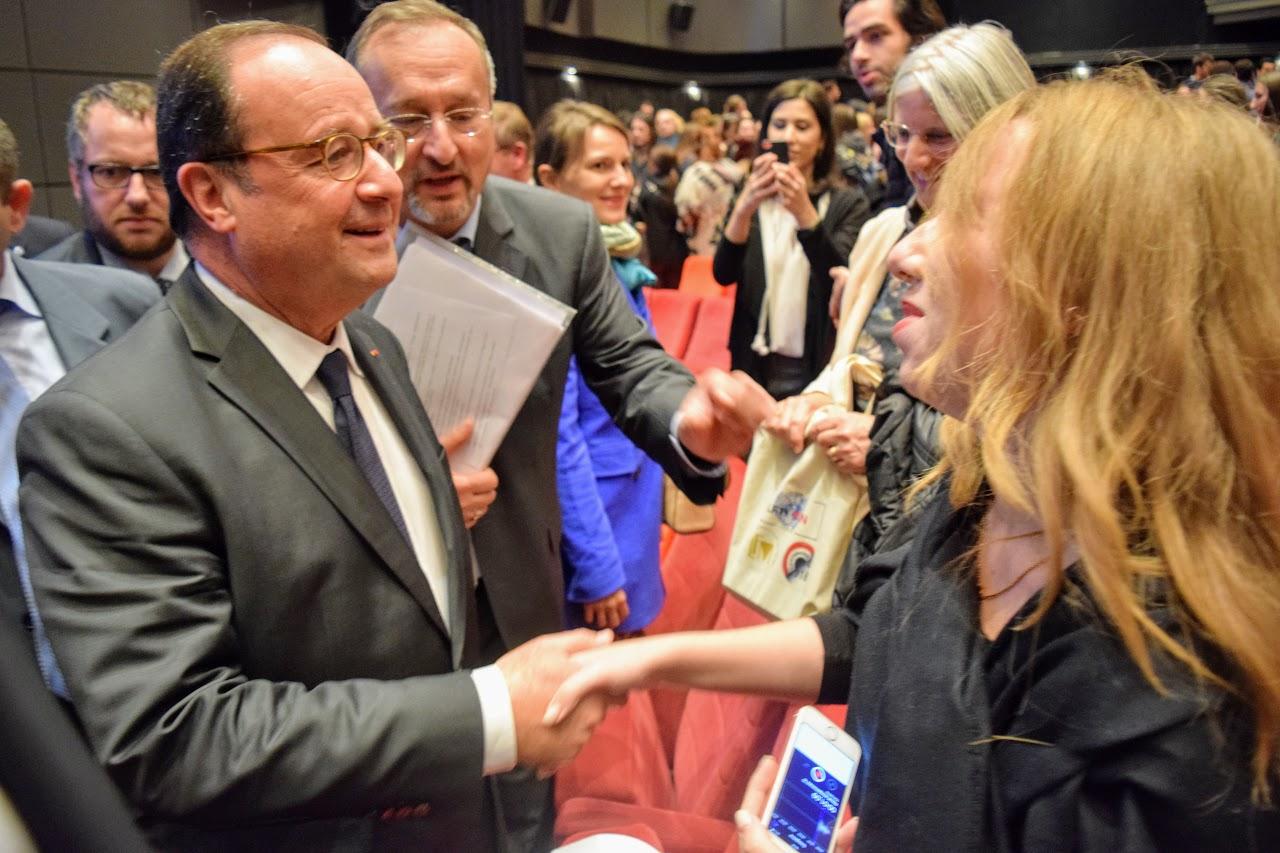 Intervention de François Hollande sur l'Europe à l'IFG : les Terminales posent leurs questions-0