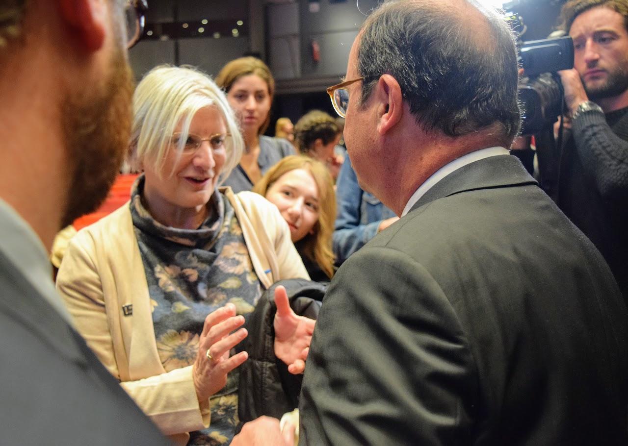 Intervention de François Hollande sur l'Europe à l'IFG : les Terminales posent leurs questions-11