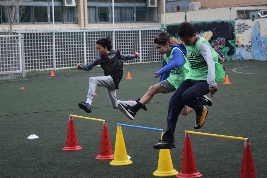 La 2ème session des Olympiades a réuni les 5e, 4e, B' et Γ'-6