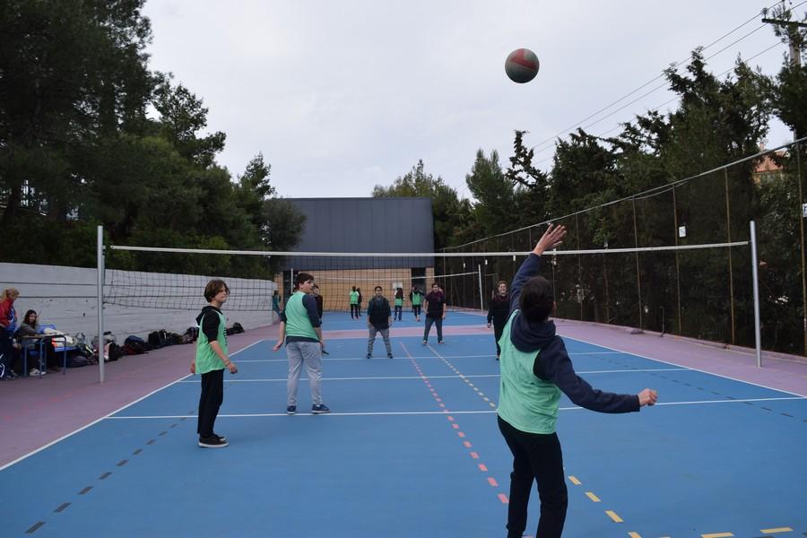 La 2ème session des Olympiades a réuni les 5e, 4e, B' et Γ'-8