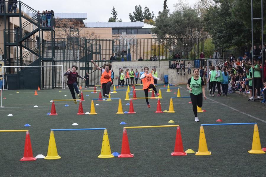 La 2ème session des Olympiades a réuni les 5e, 4e, B' et Γ'-11