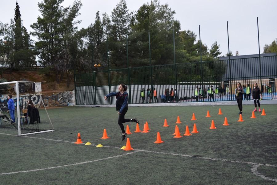 La 2ème session des Olympiades a réuni les 5e, 4e, B' et Γ'-13
