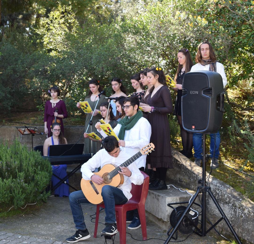 Les élèves littéraires de la Section Hellénique participent à une lecture participative des Métamorphoses d'Ovide  -1