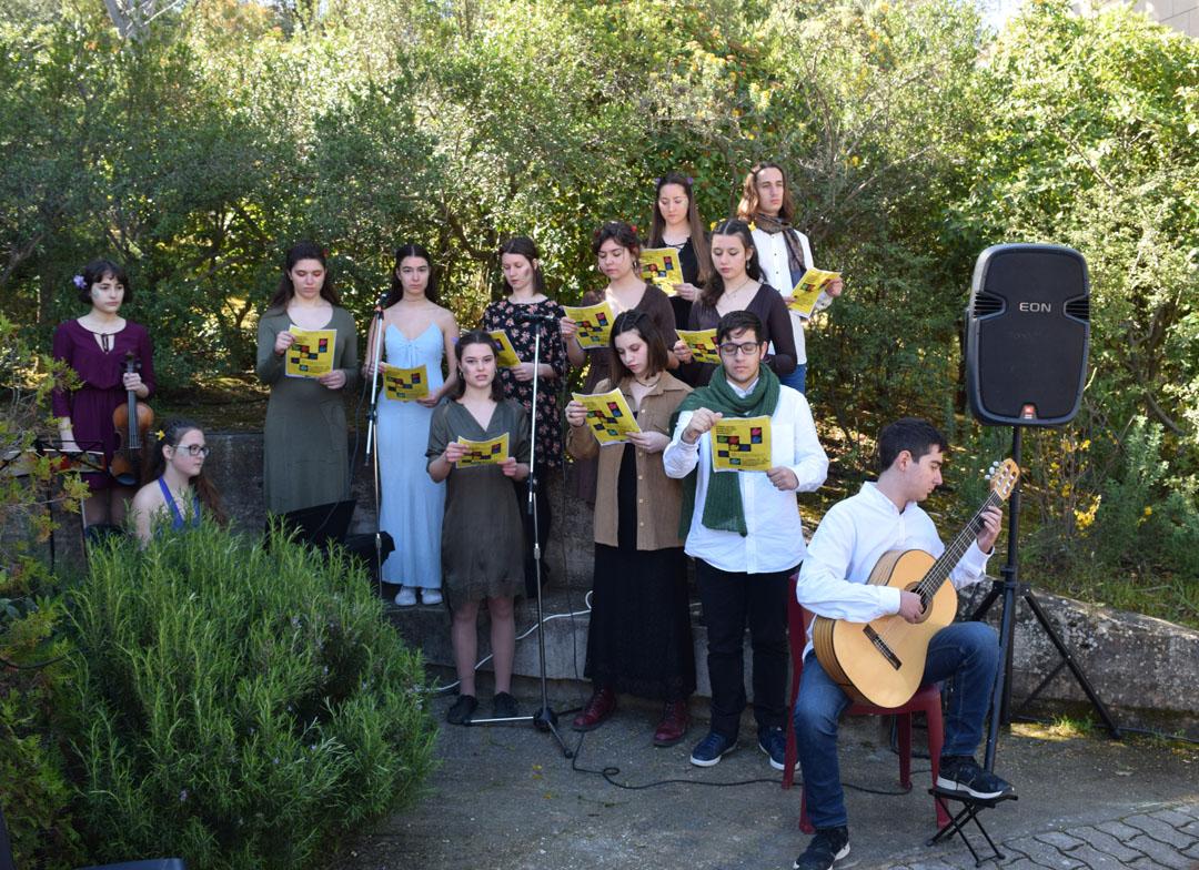 Les élèves littéraires de la Section Hellénique participent à une lecture participative des Métamorphoses d'Ovide  -2