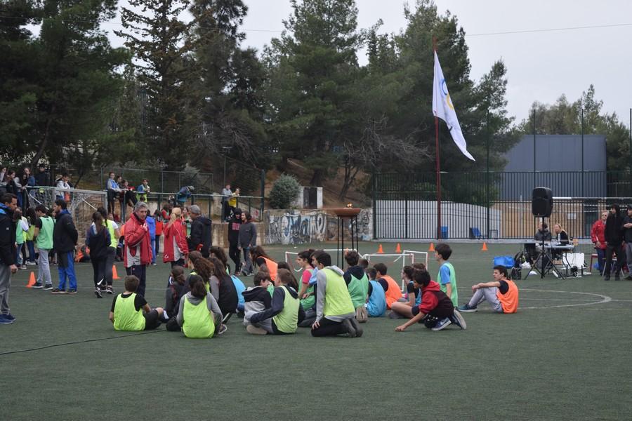 La 2ème session des Olympiades a réuni les 5e, 4e, B' et Γ'-25